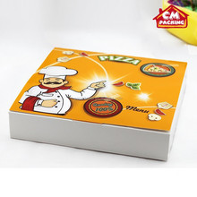 New style hot sell food packaging pizza box