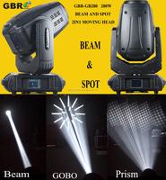10r 280W wash moving head adjustable beam spotlight