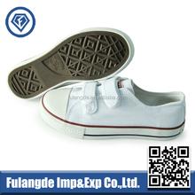 blank canvas shoes, white strap buckle canvas shoes,wholesale canvas tennis shoes