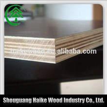 18mm poplar core phenolic film faced plywood,phenolic resin plywood with logo