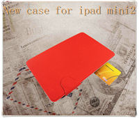 2013 New products Belt Clip Book PU Leather case for ipad mini with stading design