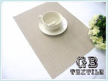hot selling modern Pvc+pet plastic Placemat/table mat