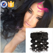 ear to ear lace frontal brazilian virgin hair body wave 13x4 size brazilian hair piece natural color in stock