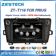 ZESTECH car dvd for Toyota Prius car dvd gps with player radio Bluetooth Gps For Toyota Prius car dvd player