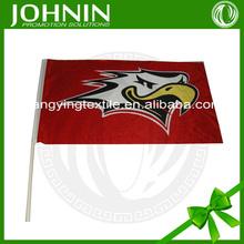 do customized printings for hand flag