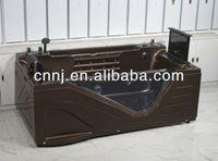 coffee color sex bath tub with TV (5208A)
