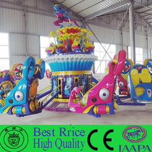 2015 NEW fiberglass playground future toys for kids amusement ride blue star