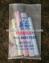 feed cosas de polipropileno tejido de la bolsa fabricante