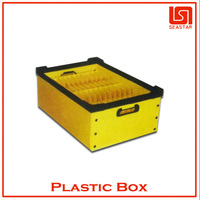 hot sale high quality plastic shadow turnover box manufacturer in china