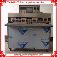 Pump feeder PLC control automatic juice water bag filling seali ng packaging machine