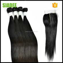 7 Days Refund Guarantee SIADEE Straight Hair 100 human hair weave brands