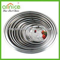70cm Hot Sale Stainless Steel Restaurant Large Fruit Dish