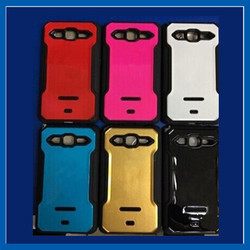 C&T Hybrid Dual Layer Armor Defender Protective Case Cover for Samsung Galaxy J7