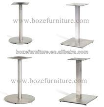 Round Furniture Leg/ Square Metal Garden Table Base/ Legs