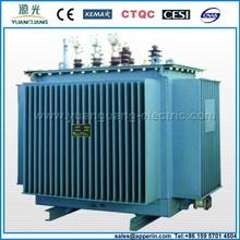 S9/S11 3 phase copper Dyn11/Yyn0 oil power transformer