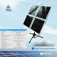 Adjustable solar ground mounting bracket solar pv aluminium frame rack solar panel pv solar tracker price