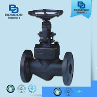 DN100 Astm A216 Wcb Cast Steel Globe Valve Drawing