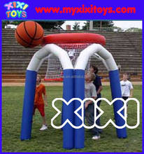 Backyard Inflatable basketball game inflatable basketball shoot hoop