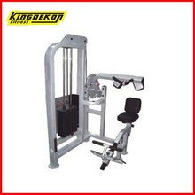 KDK 1118 square pipe fitness equipment abdominal machine