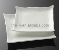 Tetragonal towel plate hotel with porcelain