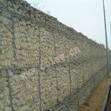 Low Cost Galvanized And PVC Coated Steel Wire Gabion Stone Basket