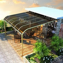 2015 polycarbonate and aluminum carport canopy