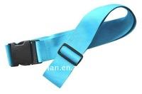 Manufacturer supplies colorful polyester material luggage bag belt for travel bag