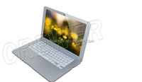 2015 New 13 inch Android 4.4 laptop VIA 8880 computer notebook Netbook DUALCORE wifi low price free laptop games download