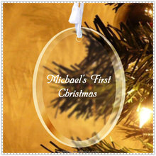 Brand New Glass Tree Ornaments For Christmas Gift