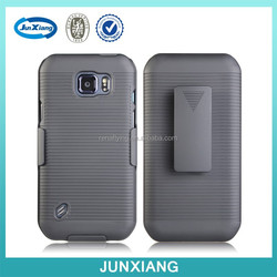 China factory back case with protective belt combo holster for Samsung S6 active