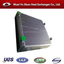 heavy equipment oil cooler radiator
