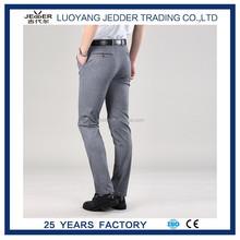 Pantalones rectos delgados del ajuste nueva men'scasual formaldress