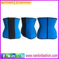 Wholesale blue nine steel bone medical orthopedic corsets
