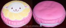 custom Plush Round microbead Pillow
