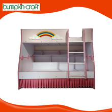 High quality modern cheap wood double bed designs with box