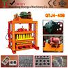 QTJ4-40 Shandong Shengya Concrete Block Machinery Building Material Brick Machinery Brick making Machinery Price for Africa