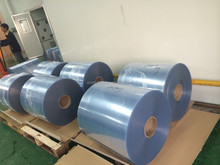 customized brand new raw material transparent pvc sheet or roll for offset printing and vaccum forming