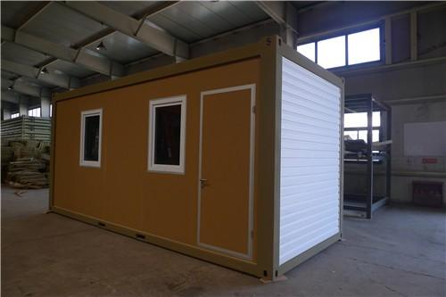 Chine faible co t maison pr fabriqu e portable conomique habitable container - Cout d une maison container ...