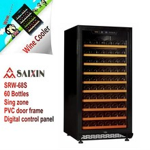 Fan circulated wine cooler / classical wine cooler / 60 bottles SRW-68S