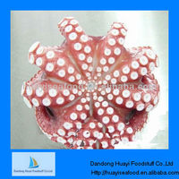 frozen cooked whole round octopus