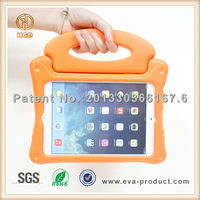 Kids shockproof silicone tablet case for apple ipad mini cover with handle grip