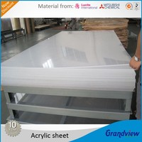 wholesale scratch resistant high gloss transparent cast acrylic sheet