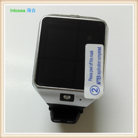 quality touch screen china smart watch phone hot wholesale,silicone wristband watch