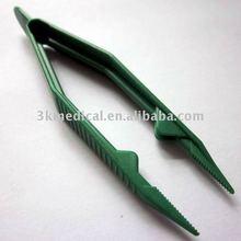surgical sterile disposabel plastic medical tweezer