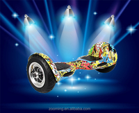 10 inch self balancing board big wheels with remote and LED lights 700W