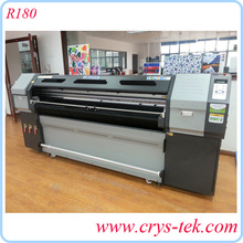 R180 UV Flatbed printer with dual dx5 head, UV lamp, glass, wooden printing