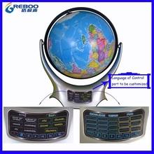 Caliente - venta educativa llevó el inglés hablando globo con pluma de la lectura, Interactivo globo con pluma que habla