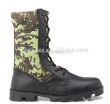2015 New design camouflage fashion military boots/military camouflage jungle boots jungle shoes USA