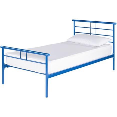 Hot sale comfortble cheap metal beds single beds for sale for Cheap single beds