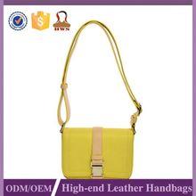 Hot Sale Top Class Custom Tag Yellow Shopping Bag